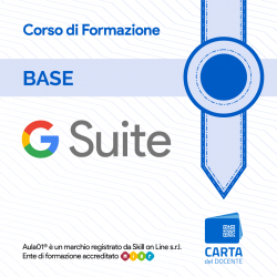 L'Uso Base della G Suite for Education