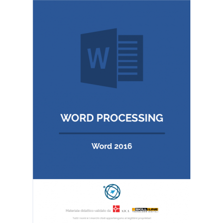 Word Processing - Word 2016